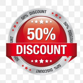5 Discount - Discounts And Allowances Stock Illustration Image Vector Graphics Red PNG