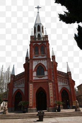 Shanghai Vintage Church - Shanghai Church Architecture Building PNG