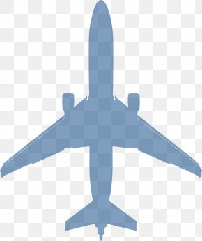 White Plane - Airplane Aircraft Boeing 737 Clip Art PNG