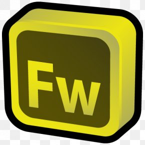 Adobe Fireworks - Area Brand Trademark Yellow PNG