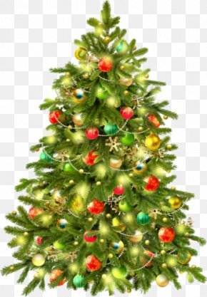 Christmas Tree - Christmas Tree Candy Cane Clip Art PNG