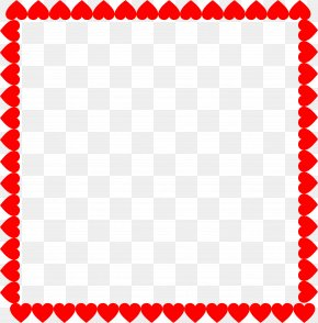 Heart Frame - Heart Picture Frames Valentine's Day Clip Art PNG