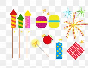 Vector Chinese New Year In A Good Mood - Fireworks Chinese New Year Clip Art PNG