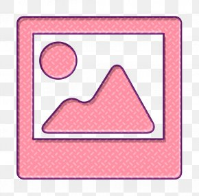 Pink Picture Icon - Image Icon Photo Icon Photography Icon PNG