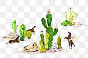 Cactus People - Visual Arts Drawing Illustrator Illustration PNG