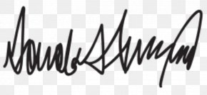 United States - President Of The United States Republican Party Handwriting Signature PNG