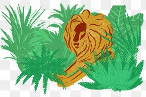 Jungle Lions - Lions Head PNG