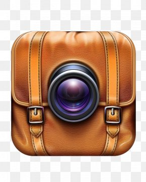 Camera Lens Cases - Application Software Icon Design IOS App Store Icon PNG