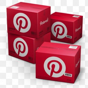 Pinterest Shipping Box - Brand Font PNG