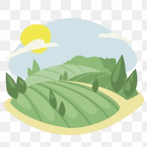 Cartoon Landscape - Cartoon Shan Shui Flat Design PNG