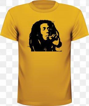 Bob Marley - T-shirt Indiana Pacers NBA Clothing Sleeve PNG