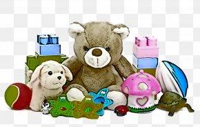 Teddy Bear Animal Figure - Baby Toys PNG