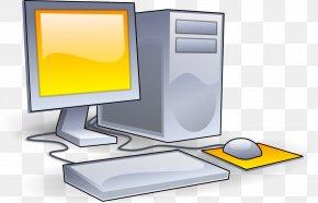Computer Clip - Computer Graphics Desktop Computer Clip Art PNG