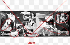 Moral Lecture - Bombing Of Guernica Spanish Civil War Painting Cubism PNG