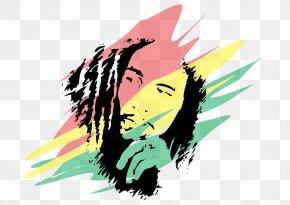Bob Marley - T-shirt Clip Art PNG