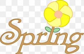 Free Spring Clipart - April Shower Spring Clip Art PNG