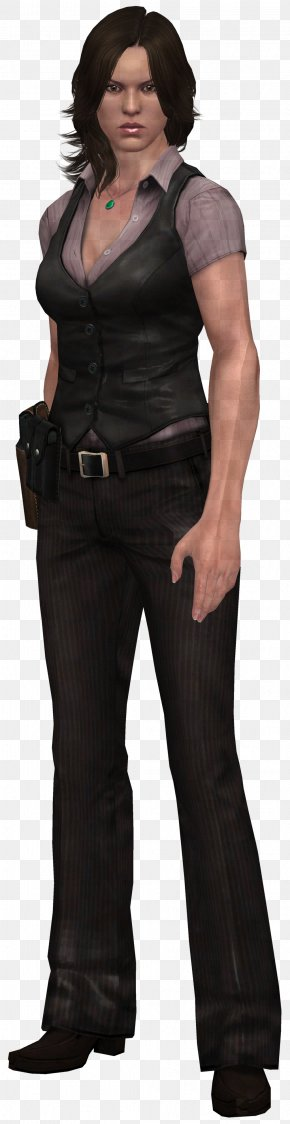 Helena Harper - T-shirt Mafia II Vito Scaletta Jeans Suit PNG
