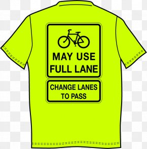 Grinning Smiley - Bicycles May Use Full Lane Cycling Shared Lane Marking PNG