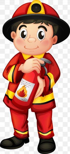 Firefighter - Fire Department Fire Station Firefighter Fire Engine Clip Art PNG