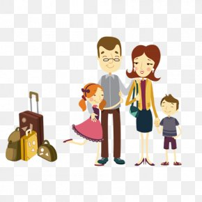 Family Travel - Family Poster Child Care PNG