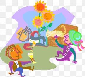 Summer Picnic Cartoon Svg - Illustration Gymnasium Clip Art School Pupil PNG