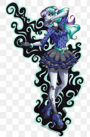 Monster - Monster High Draculaura Fan Art PNG