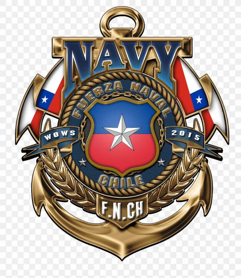Navy Officer Crest Decal Sticker