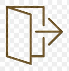 Essential Set Icon Exit Icon - Exit Icon Essential Set Icon PNG