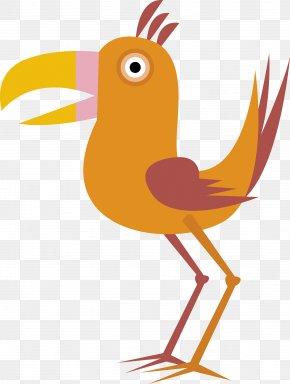 Bird Vector - Bird Euclidean Vector Cartoon Drawing PNG