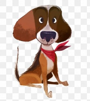 Pet Dog - Dog Cartoon Character Design Illustration PNG