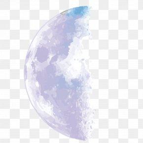 Vector Moon Galaxy - Euclidean Vector Galaxy Adobe Illustrator PNG