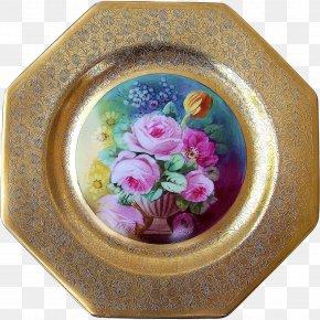 Flower - Porcelain Flowerpot Oval PNG