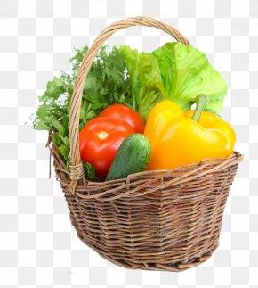 Vegetable Basket - Vegetable Tomato Auglis Carrot Capsicum Annuum PNG