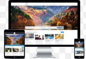 Computer - Computer Monitors Multimedia Desktop Wallpaper Display Advertising PNG