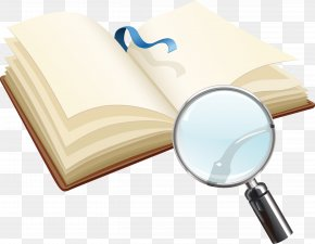 Books And Magnifying Glass - The Brothers Karamazov Book Ficciones Reading Childrens Literature PNG