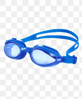 Goggles - Arena Sprint Goggles Swimming Blue PNG