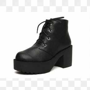 Boot - Boot High-heeled Shoe Footwear Platform Shoe PNG