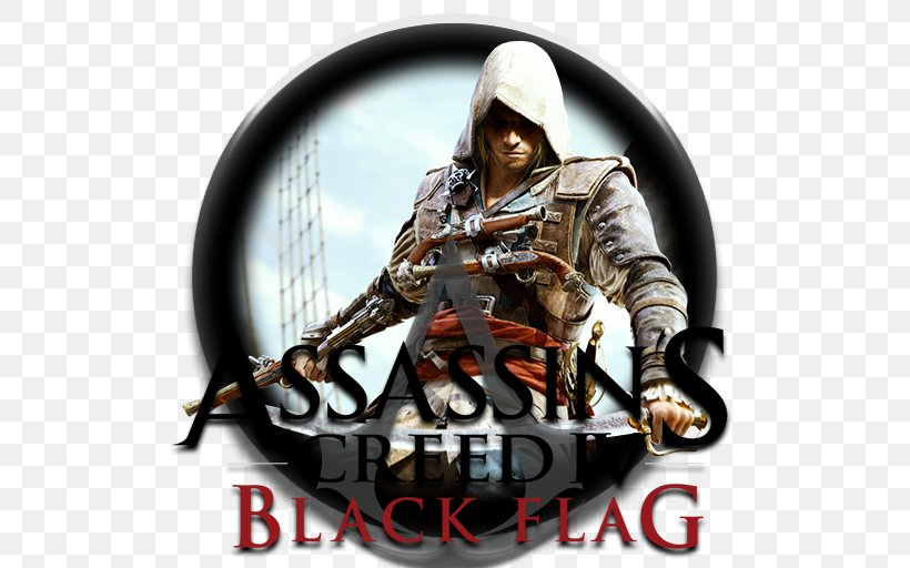 Assassin's Creed IV: Black Flag Assassin's Creed Syndicate Assassin's Creed Unity Video Game, PNG, 512x512px, Video Game, Actionadventure Game, Blackbeard, Mercenary, Military Organization Download Free