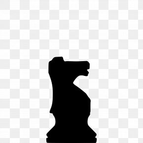 Chess - Chess Piece Silhouette Knight Queen PNG