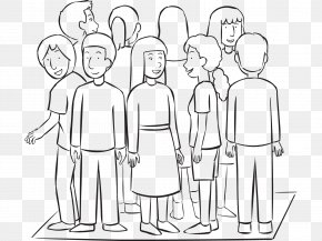 People's Rescue Team - Drawing Line Art Social Group PNG