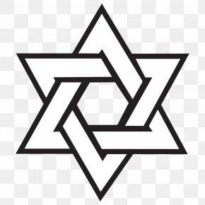 Judaism - Capernaum T-shirt Star Of David Judaism Jewish Symbolism PNG