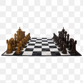 Chess - Chess Piece Queen King Chess Table PNG