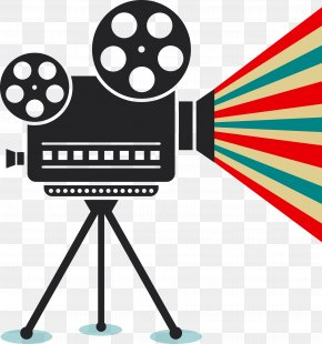 Camera - Photographic Film Cinema Movie Projector PNG