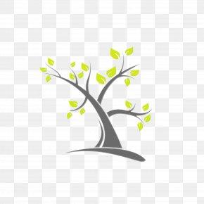 Wall Sticker Plant Stem - Branch Tree Leaf Logo Plant PNG