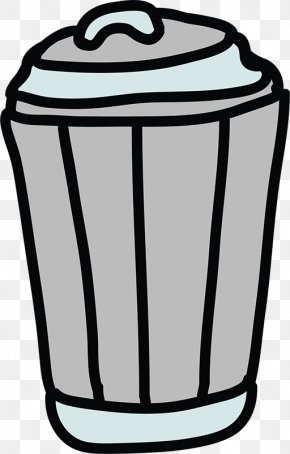 Cartoon Trash Can Icon - Waste Container Cartoon Animation Clip Art PNG