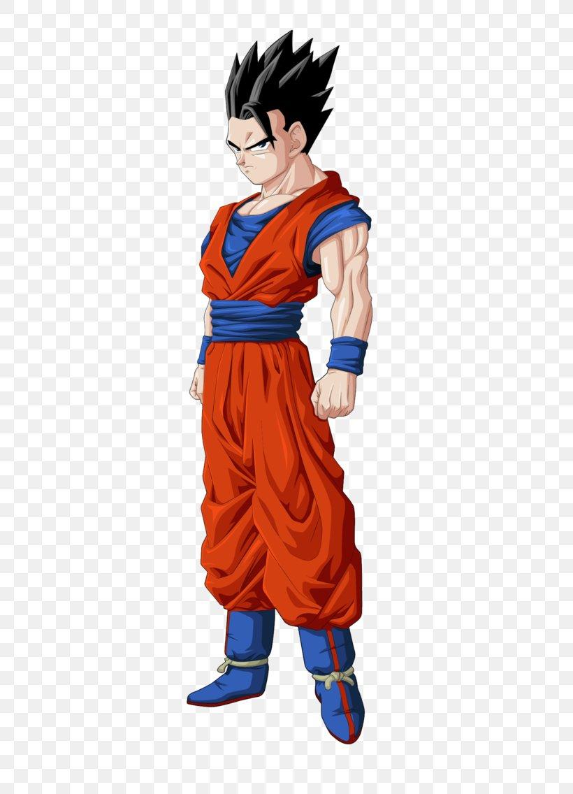 Gohan Goku Vegeta Goten Videl, PNG, 500x1136px, Gohan, Action Figure, Cartoon, Costume, Costume Design Download Free