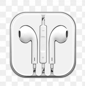 White Headphones - IPhone 5 Headphones Microphone IPhone 6S Apple Earbuds PNG