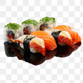 Sushi - Sushi Japanese Cuisine Take-out Seafood Asian Cuisine PNG