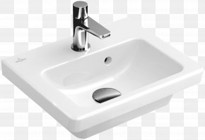 Sink - Villeroy & Boch Sink Bathroom Tap Piping And Plumbing Fitting PNG