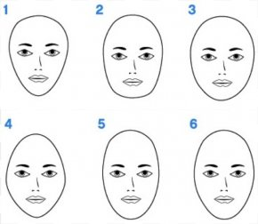 Female Shape Cliparts - Eyebrow Shape Face Hairstyle PNG